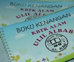 buku kenangan KB dan TK Alam