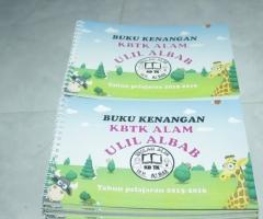 cetak buku kenangan TK dan PAUD